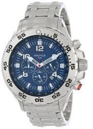 amazon com nautica men s n19509g nst stainless steel watch amazon com nautica men s n19509g nst stainless steel watch nautica watches