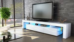 Tv Stand Lima V2 White High Gloss Various Color Fronts