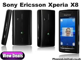 sony ericsson xperia x8. black sony ericsson xperia x8 pay as you go deals \u2013 phones limited news, reviews, 8