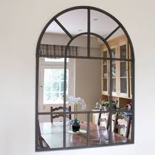 ... Metal Window Mirrors Wooden Window Mirror Wall Decor Interior Wall Decor  With Arched Mirror Cool Arched Mirror For Interior Decor ...