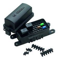marine fuse panel electrical lighting waterproof fuse relay block panel car truck atv utv rv boat 4x4 marine hwb60