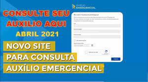 Auxilio Emergencial 2021 - Consulta DataPrev Quando vou receber? Qual  valor? #AuxilioEmergencial2021 - YouTube