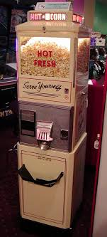 Popcorn Express Vending Machine Impressive Antique Popcorn Machine Going In Media Room Basements