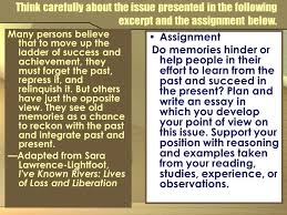 the well structured essay objectives students will review the  7 think
