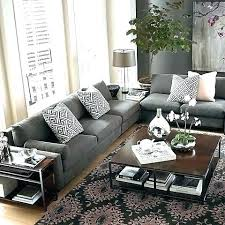 gray sofa living room grey couch ideas sectional in dark remodel 5
