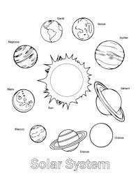 Coloring Pages Coloring Pagesolarystem For Picture Inspirations