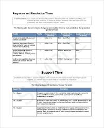 Basic Contract Outline It Agreement Template Support Download Contract Templates