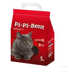 <b>Наполнитель</b> для кошачьего туалета <b>pi</b>-<b>pi</b>-<b>bent</b> - OBI
