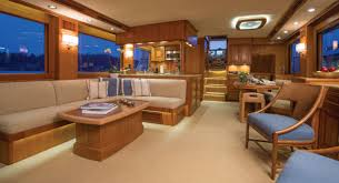 the interior e on this fleming 58 brings all the forts of home