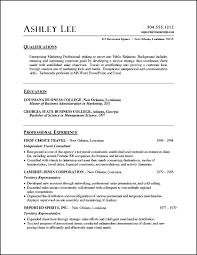 pr resume template