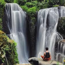 Bildergebnis für Taman Beji Griya Waterfall