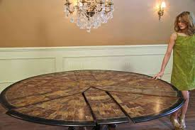 deluxe image expandable round table choosing designs in dining full size