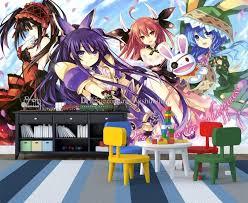 date a live wall mural custom 3d wallpaper anese anime