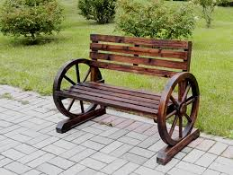 new large patio garden wooden wagon
