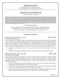 Resume Job Objective Fascinating Resume Objective For Teachers Zromtk
