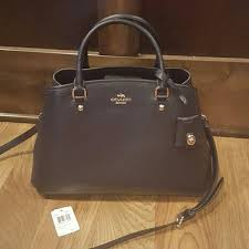 Coach Small Margo Carryall Navy Blue Midnight