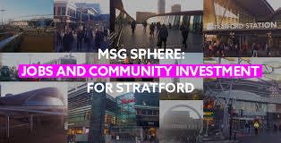 msg sphere would bring great jobs and training opportunities for young people in newham so we ve taken the msg next generation tour to school and colleges