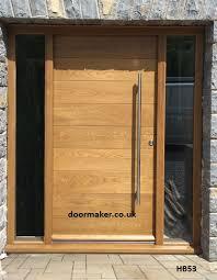 Front Door Charming Solid Wooden Front Door Design Solid Wood Solid Wood Contemporary Front Doors Uk