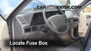 interior fuse box location 1990 1996 oldsmobile cutlass ciera 1996 chevy lumina fuse box diagram locate interior fuse box and remove cover