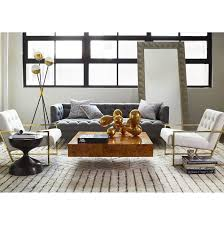contemporary coffee table wooden acrylic square