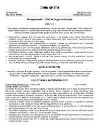 Manager Resume Examples Classy Clinical Projects Manager Resume Sample Template