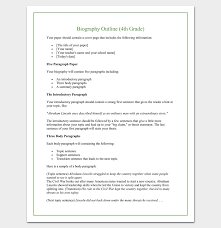 biography outline template formats samples and examples biography outline template 15 formats samples and examples