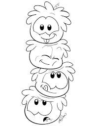 Club Penguin Coloring Pages Bestofcoloringcom