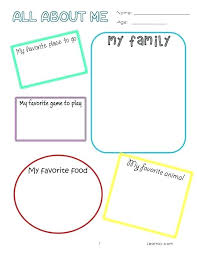 All About Me Worksheets Pdf Preschool All About Me Worksheet About Me Preschool
