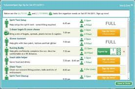 volunteer schedule template. Free Volunteer Registration Template Online SignUp Blog by SignUpcom