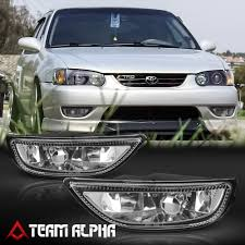 2002 Toyota Tacoma Fog Lights Details About Fits 2001 2002 Toyota Corolla Pair Clear Bumper Fog Light Driving Lamp W Bulb