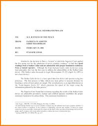 Memorandum Sample 6 Example Of A Legal Memorandum Pennart Appreciation Society