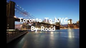 toronto to new york city by road you