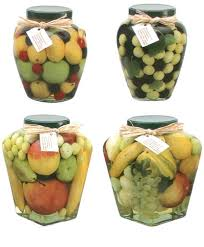 Decorative Vegetable Jars Artificial Fruit And Vegetable Decorative Preserves Jar Faux 9