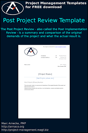 Download Free Download Free Post Project Review Template And More