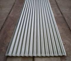 corrugated sheet metal for