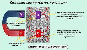 Магнитное поле и его параметры магнитные цепи Силовые линии магнитного поля