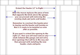 image result for double garage door opening size garage door rough opening chart