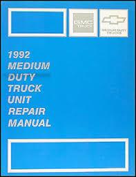 1992 chevy kodiak gmc topkick and p6 wiring diagram manual original 1992 gmc chevy medium duty overhaul manual original