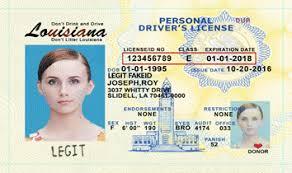 Legitfakeid Id Louisiana Card Fake