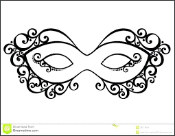 Masquerade Mask Template Interesting Venetian Lace Mask Template Step Masquerade Getpicksco