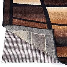 area rug pad 8x11 non skid slip underlay nonslip pads actual size 7 6