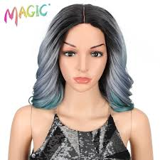 """Detail Feedback Questions about <b>MAGIC 14""""Inch Ombre</b> Black ..."""