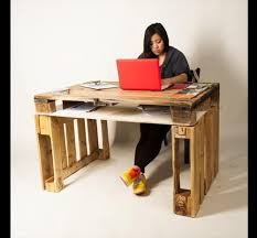 pallet office furniture. DIY Pallet Office Table Ideas: Furniture