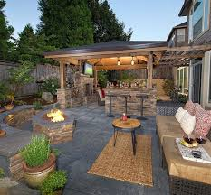 Backyard Kitchen Ideas  Large And Beautiful Photos Photo To Backyard Kitchen