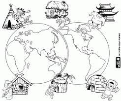 Kleurplaten De Reis Om De Wereld Kleurplaat
