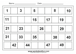 Kindergarten Printable: Printable Kindergarten Math Worksheets 1 ...