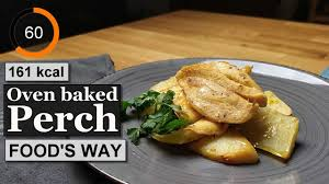 Oven baked perch recipe