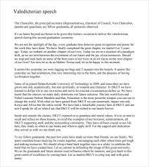 Valedictorian Speech Examples Sample Valedictorian Speech Example 100 Free Documents in PDF 2