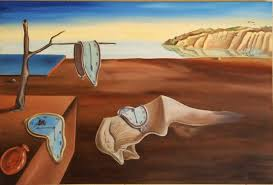 paintings for salvador dali time painting