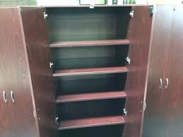 tall wood storage cabinet. Unfinished Wood Storage Cabinets Tall Cabinet .